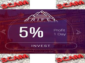 """Brifex <strong><span style=""""color: #808000;"""">SCAM</span></strong>"""