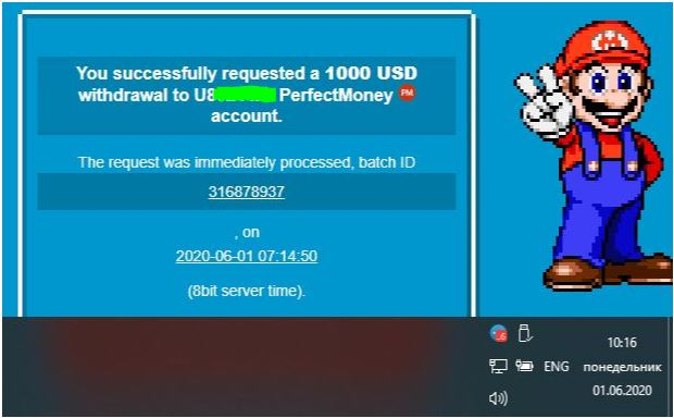 withdraw 8 bit 1000