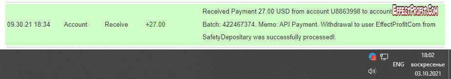 safetydepositary Withdrawal